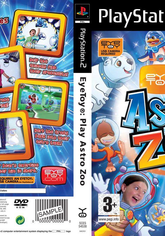 Astro Zoo EyeToy Inlay:Retail EyeToy Inlay v5.4
