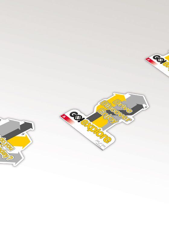 GO_3D Floor stickers